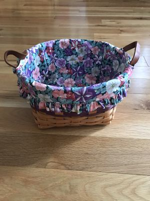 1997 Longaberger Petunia Basket for Sale in Ashburn, VA