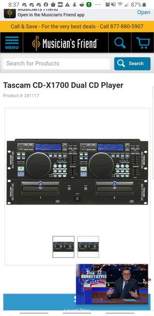 TASCAM CD-X1700 for Sale in Gig Harbor, WA