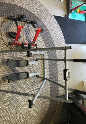 Exercise Equip: Bike Stand and Gazelle Running Machine for Sale in Butler, PA