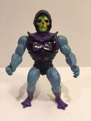 Battle Action Skeletor - MOTU Masters Universe Heman - Vintage Action Figure Toy for Sale in Naperville, IL
