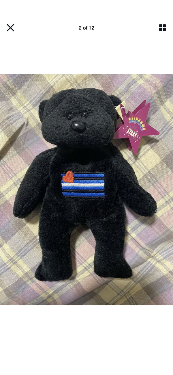 Rare Rainbows And Stars Stiletto Teddy Bear