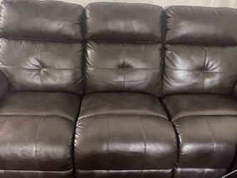 Sofa And Loveseat Brown Great Condition for Sale in Mesa,  AZ