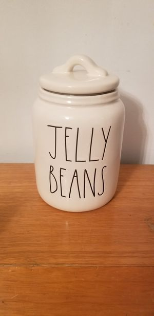 Rae Dunn Jelly Beans Canister for Sale in Ravenswood, WV
