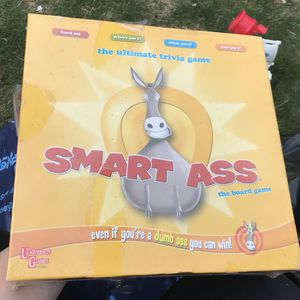 Smart Ass Board Game New for Sale in Plainview, NY