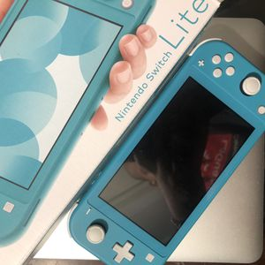 Nintendo Switch Lite: Turquoise for Sale in Queens, NY
