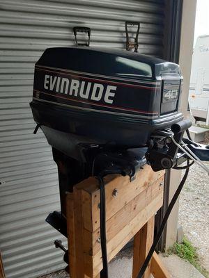 1990 40 hp Evinrude 2 stroke for Sale in Fort Denaud, FL