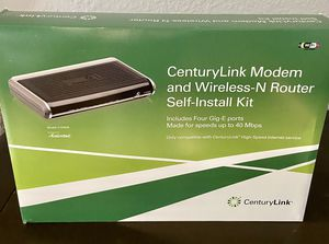 Actiontec C1000A Wireless-N VDSL2 4-Port Modem Router for Sale in Federal Way, WA