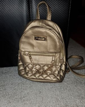 Bebe Gold Mini Backpack with Chain for Sale in Seattle, WA