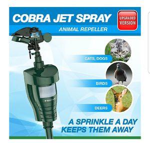 Outdoor Water Jet Blaster Animal Pest Repeller – Motion Activated Sprinkler Pest Control Repellent for Sale in Grand Blanc, MI