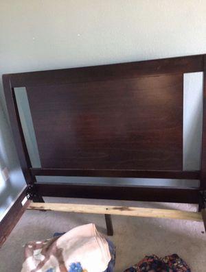 Full headboard frame with box spring for Sale in Vallejo, CA