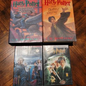 Harry Potter Books DVDs for Sale in Kent, WA