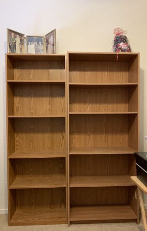 Two Bookshelves for Sale in Tulare, CA