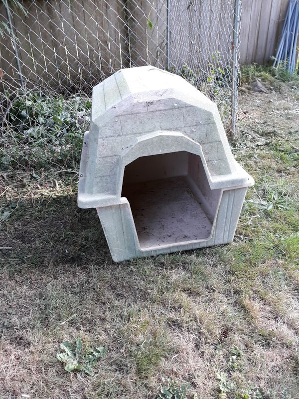 Dog crates and house