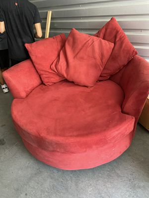 TWO RED Couches for Sale in Anaheim, CA