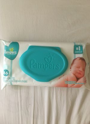 Pampers wipes sealed-one pack only for Sale in Tempe, AZ