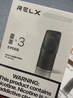 Relx Pods/White Freeze for Sale in Brooklyn,  NY