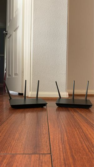 Asus Wi-Fi wireless router (2 available) - RT-AC66U Wi for Sale in Chula Vista, CA