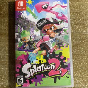 Splatoon 2 Nintendo Switch for Sale in Fresno, CA