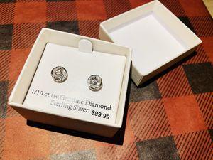 Diamond earrings for Sale in Harrisburg, PA