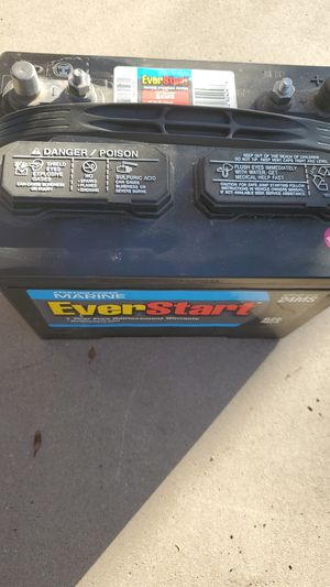 Boat or Rv battery for Sale in Chandler, AZ