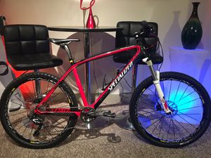 Specialized Stumpjumper Carbon Marathon HT-2011---26in L for Sale in Austin, TX