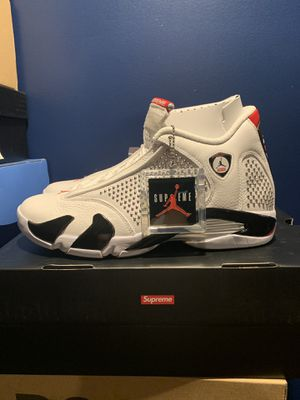 SUPREME JORDAN 14 SIZE 9.5 DS for Sale in Mount Holly, NJ