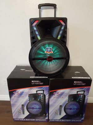 BLUETOOTH 15 INCH $100 BRAND NEW for Sale in Bloomington, CA