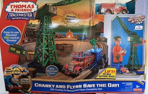 Thomas & Friends TrackMaster Cranky and Flynn Save the Day for Sale in Windermere, FL