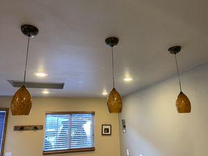 Retro pendant lights for Sale in East Wenatchee, WA