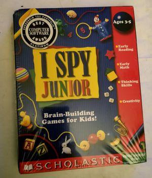 I Spy Junior Early Math/Reading/Thinking Skills/Creativity for Sale in Olympia, WA