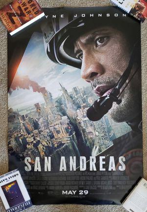 San Andreas Poster for Sale in Alexandria, VA