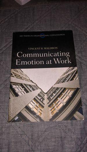 Communicating Emotion at Work for Sale in Chandler, AZ