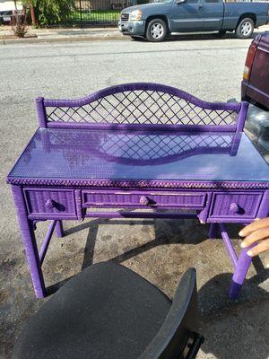 Wicker Desk for Sale in Gilroy, CA