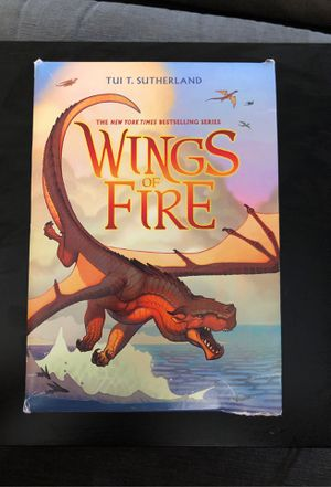 Wings of Fire Book 1-5 for Sale in Chula Vista, CA