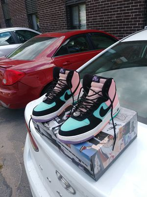 Nike Af1 have A nice day !!! for Sale in Springfield, MA