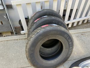 Trailer tire brand new size 17.5 last two $140 each for Sale in Banning, CA