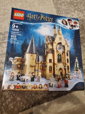 Lego harry potter Hogwarts clock tower for Sale in Rockwall, TX