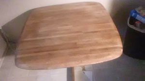 Solid wood kitchen table and chairs for Sale in Martinsville, IN