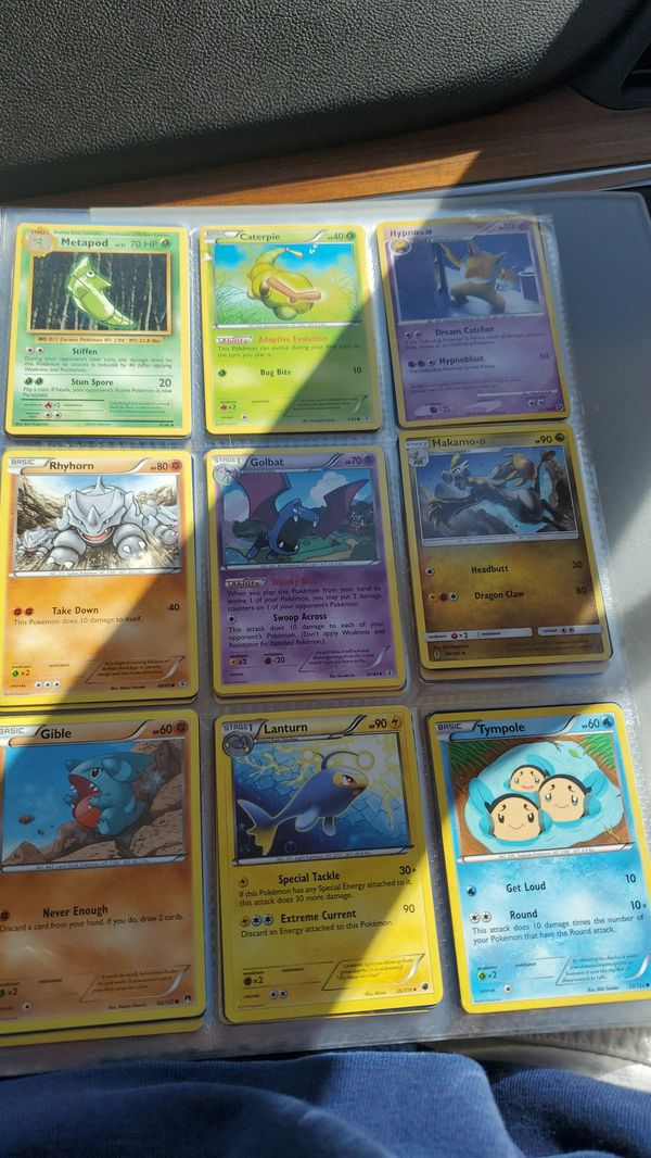Pokemon cards over 500 cards