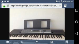 Yamaha YPT-240 Keyboard with stand for Sale in Oak Ridge, TN
