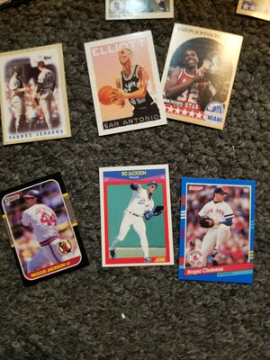 Football Baseball Basketball cards for Sale in Lake Arrowhead, CA