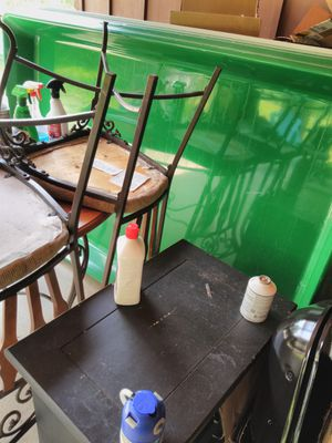 Large Produce display table with drain no legs for Sale in Stonecrest, GA
