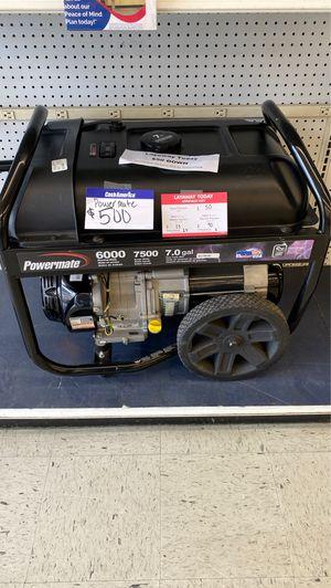 Powermate Generator FCP2224 for Sale in Houston, TX