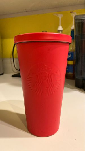 Starbucks Red Metal Tumbler for Sale in Kent, WA