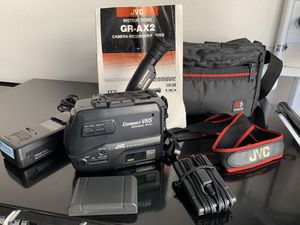 JVC GR-AX2 Compact VHS Video Camera Camcorder for Sale in Rancho Cucamonga, CA