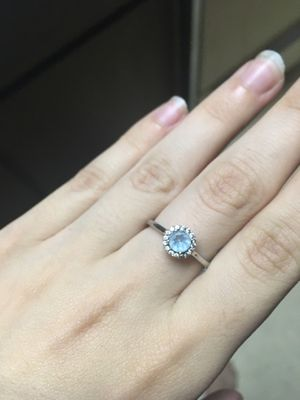 Aquamarine ring for Sale in Wautoma, WI