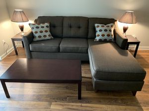 Like Brand New Sofa & Dining Table & 4 Chairs! for Sale in Kathleen, GA