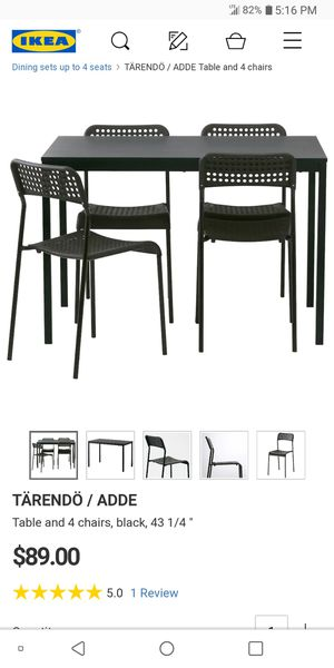 IKEA dining table set for Sale in Rockville, MD