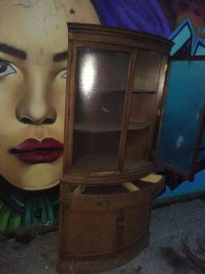 Antique Triangle Cabinet for Sale in San Diego, CA