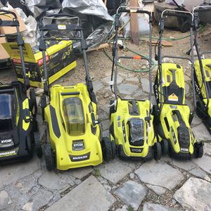 Ryobi Lawnmowers for Sale in Huntington Beach, CA